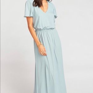 Michelle Flutter Maxi Dress